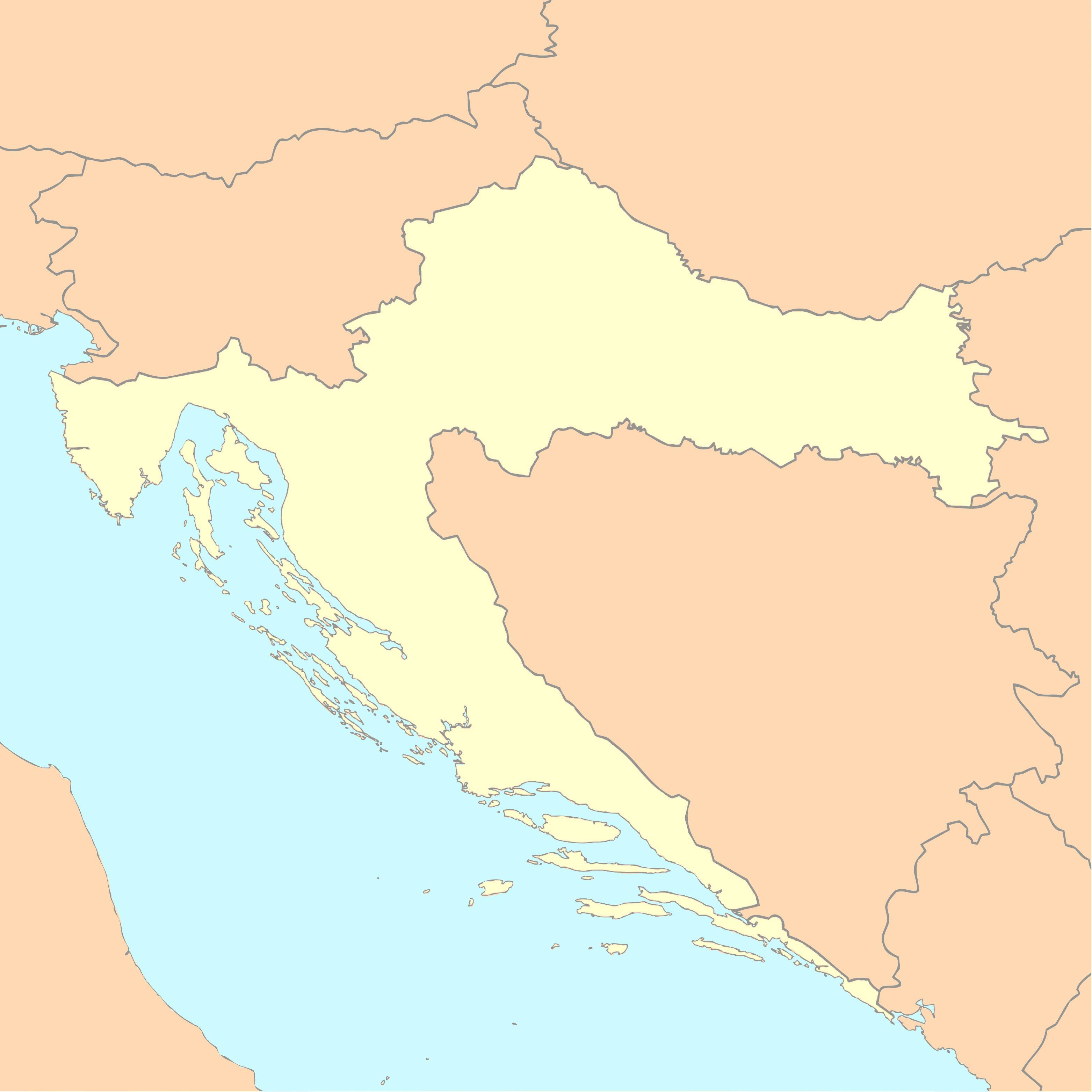 Croazia E Slovenia Cartina Geografica.Mappe Della Croazia Trasporti Geografia E Mappe Turistiche Della Croazia Nell Europa Meridionale